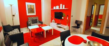 Rental accommodation in the center of Seville